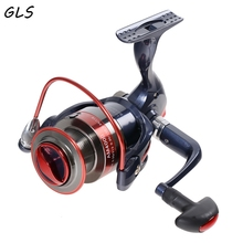 2000-7000 New Water Resistant Carbon Drag Spinning Reel with Larger Spool 20KG Max Drag Sea Boat Spinning Fishing Reel