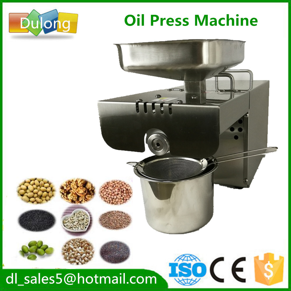 home use cold  Oil Press Machine Nuts Seeds Oil  Press Machine All Stainless Steel peanuts oil