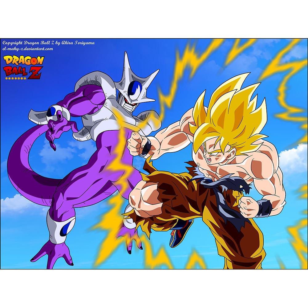 ( Goku Super Saiyan VS Cooler Playmat) Limited Edition ...