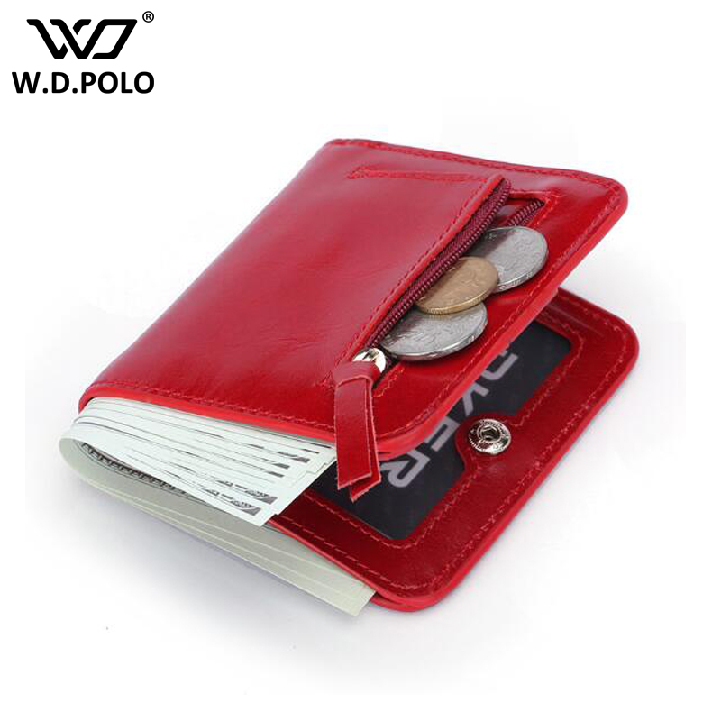 WDPOLO Leather Small Women Coin Purse Mini Change Purses Card Bags pocket gifts for women money bag clutch C121