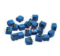 10PCS 2P KF301-2P 5.08mm Blue Connector Screw Terminal Block