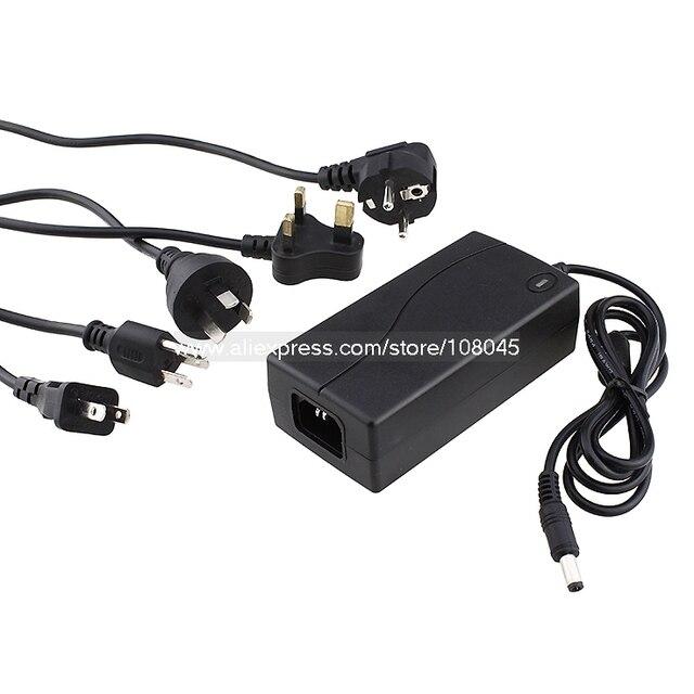 FC009A 60W 12V 5A DC UK/JP/US/EU/KR/AU Standard plug power adapter