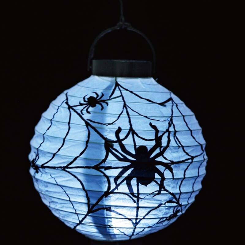 1pcs Round Halloween Lantern Ghost Head Halloween