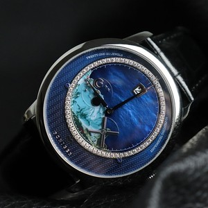 Image 2 - Zwitserland Top Luxe Merk PONIGER Mannen Horloge Japan Import Automatische Mechanische MOVT Horloges Landschap Dial Sapphire P723 4