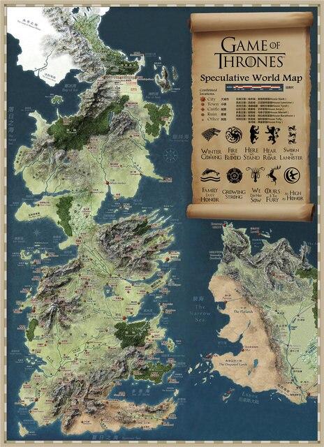 Vintage Map Poster  4