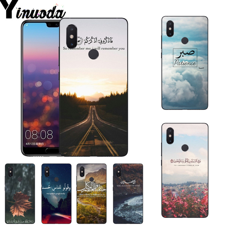 Obedient Yinuoda Arabic Quran Islamic Quotes Muslim Phone Case For Xiaomi Mi 6 Mix2 Mix2s Note3 8 8se Redmi 5 5plus Note4 4x Note5 Great Varieties Half-wrapped Case