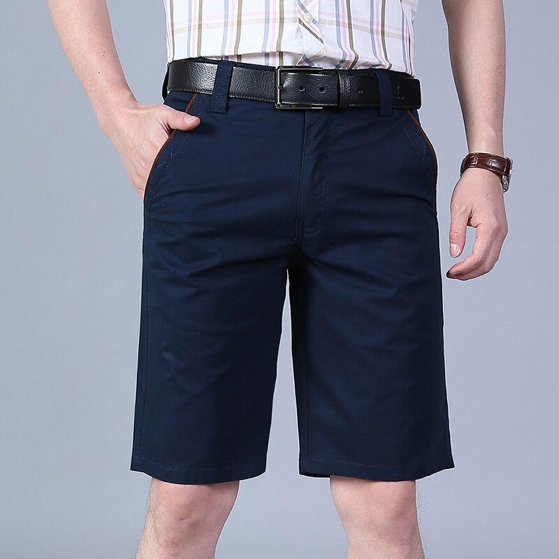 New Summer Loose Cargo Shorts Men Clothing Tace & Shark shorts masculino ropa de hombre 2018 sweatpants Knee-Length Cotton Short