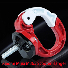 Skateboard Tools Bottle Luggage Cargo Carrier Hanger Gadget for Xiaomi Mijia M365 Electric Scooter Front Hook Helmet Bags Claw