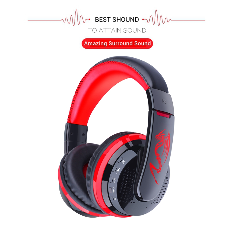 OVLENG Wireless Headset Bluetooth 4.1 Headphone with Microphone Support TF Card Noise Cancelling Earphone Handsfree for Phone bq 618 wireless bluetooth v4 1 edr headset support handsfree earphone with intelligent voice navigation for cellphones tablet