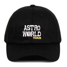TOUR 100% Cotton ASTROWORLD Baseball Caps Travis Scott Unisex TOUR Astroworld Da