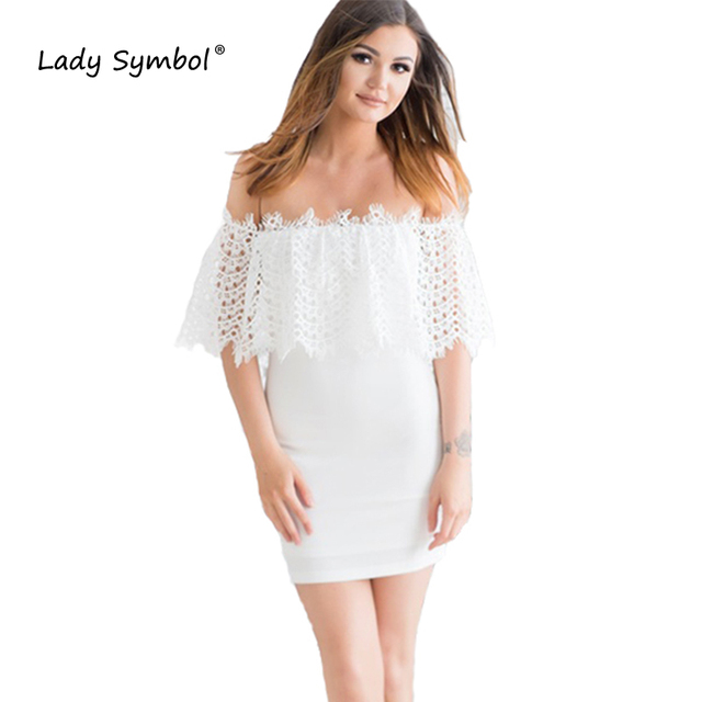 Aliexpress white casual dresses
