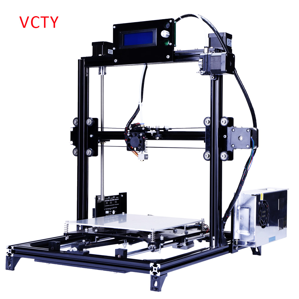 FDM 3d Printer Desktop Type China 3d Printer With Two Rolls Filament SD Card