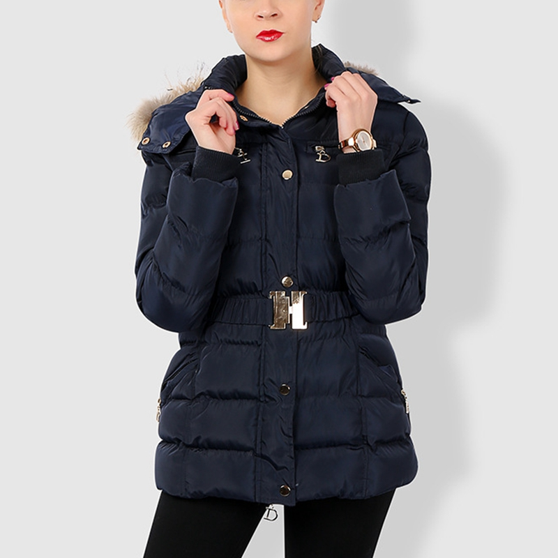 New 2018 winter jacket women coat slim waist hooded fur parka womens down jackets cotton padded warm outerwear korean fashion 2016 winter korean star style fashion long down padded jacket women slim hooded coat with big pocket cotton warm parkas ja014 page 8