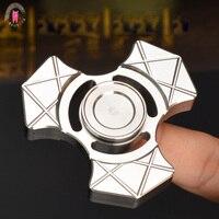 2017 New Seiko Hand Spinners Metalen Tri Spinner Fidgets Stainless Steel Toys EDC Sensory Fidget Spinners