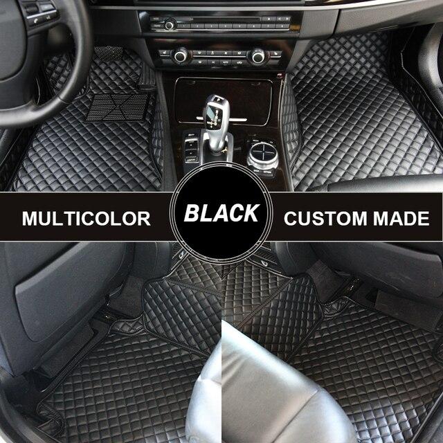 SCOTABC Custom Car Floor Mats for Peugeot 206 207 301 5008 RCZ Carpet In The Car Alfombras Coche Alfombrilla Coche