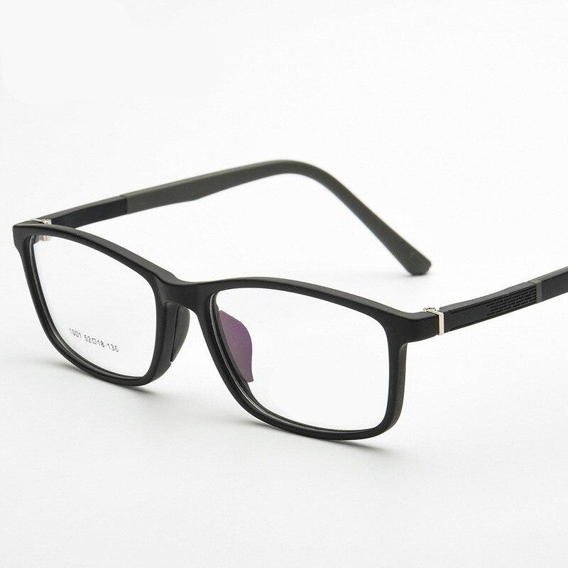 6837c7a46a7 Brand TR90 Square Eyes Black Blue Wine Red Eyeglasses Fresh Myopia  Spectacle Students Fashion Prescription Glasses Frame 5colors