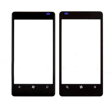 DHL Shipping 50pcs lot High Quality Black Outer Touch Screen Lens Top Glass for Nokia Lumia