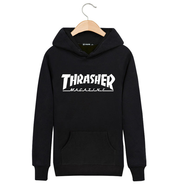 Autumn Streetwear Skateboard Thrasher Palace men's Sweatshirt Hoodie brand Clothing Thin Trasher Hoodies hip hop men hombre