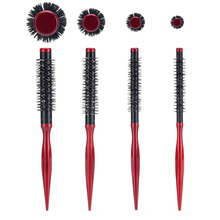 Mayitr 1 шт. портативная Расческа для укладки волос DIY Вьющиеся круглые кисти парикмахерские инструменты для укладки волос для завивки волос инструмент для укладки волос