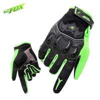 BATFOX Winter Men Motorbike Full Finger Gloves Shockproof Non slip Cycling Mittens Breathable guantes ciclismo Bike Gloves
