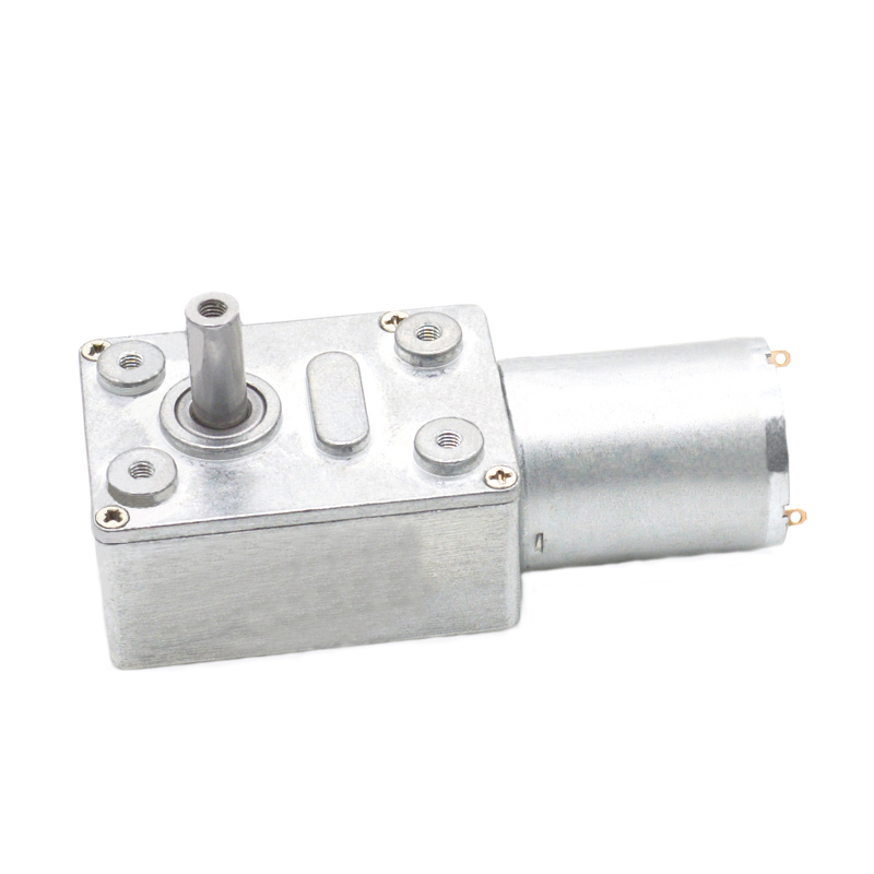6V High Torque Turbine Gearbox Electric Worm Reduction Motor DC 6-150RPM