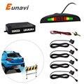 1 Conjunto Do Carro Sensor de Estacionamento LEVOU Exibição Kit 4 Sensores para todos os carros Reverso Assistência Radar Backup System Monitor