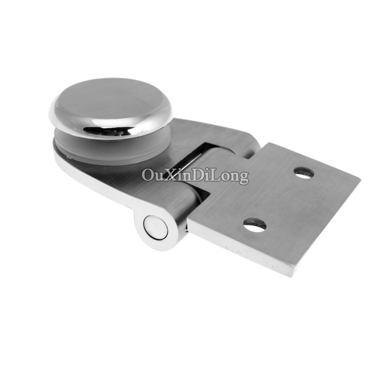 High Quality Stainless Steel Shower Bathroom Glass Door Hinges 90