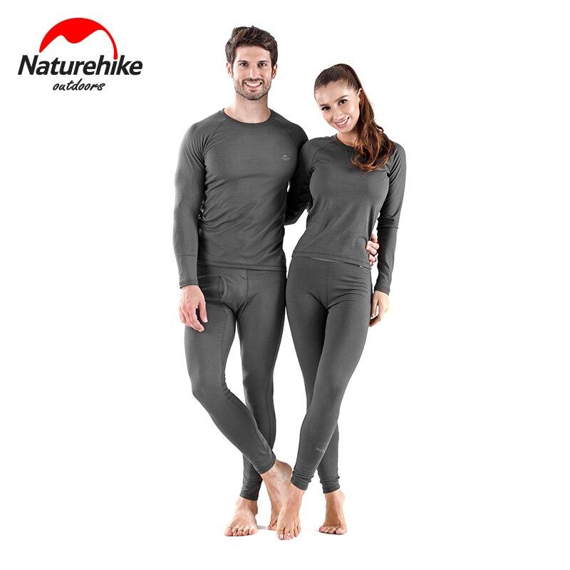 Naturehike outdoor thermal underwear quick drying ski autumn clothes sports underwear function wicking underwear