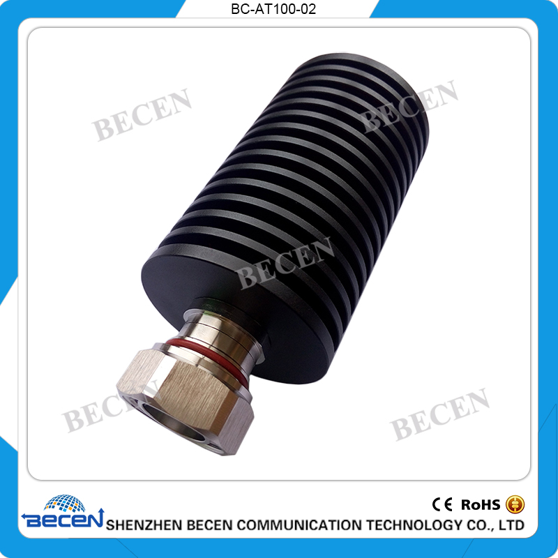 100W DIN-JK coaxial fixed attenuator,DC to 3GHz, DC to 4GHz ,50 ohm ,1dB,3dB,5dB,6dB,10dB,15dB,20dB,30dB,40dB,50dB,free shopping high power 100w watt n male to n female attenuator dc 3ghz 30db coaxial power with heat sink attenuator free shipping