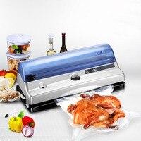 220 V 110 V автоматическая вакуумная упаковочная машина для домашней еды вакуумная запечатывающая машина многофункциональная лучшая пищевая м