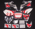 3M CRF50 GRAPHICS KIT decals Sticker CRF50 for Dirt bike Pit Bike Parts free shipping
