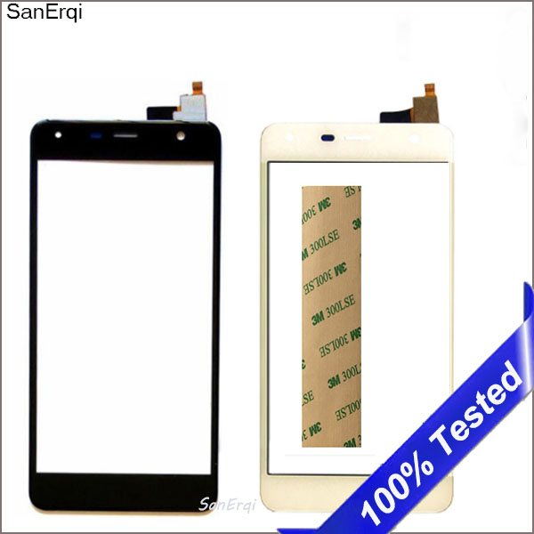 For Fly <font><b>fs517</b></font> cirrus 11 FS 517 <font><b>Touch</b></font> Screen Digitizer Front Glass Lens Panel New Sensor Replacement Touchscreen image