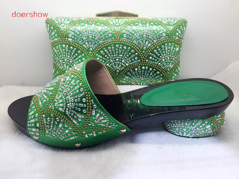 doershow doershow Free Shipping high quality Italian shoes and bags to match women/italian shoes with matching bag !HJJ1-31 new design italy matching bags and shoes high quality italian shoes and bags to match women sandal pumps for wedding hs002