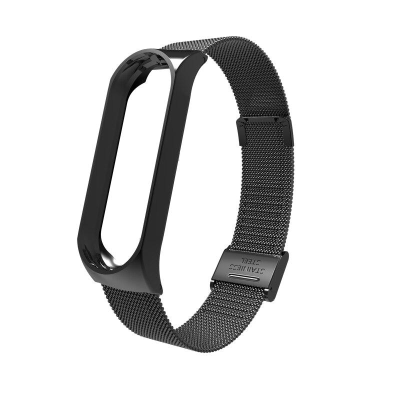 Mi Band 3 Wrist Strap Metal Screwless Stainless Steel For Xiaomi Mi Band 3 Strap Bracelet Miband 3 Wristbands Pulseira Miband3