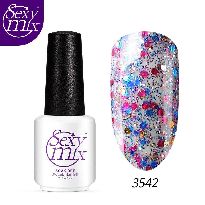 Glitter Nail Polish Buy: Aliexpress.com : Buy Sexymix Professional Diamond Glitter