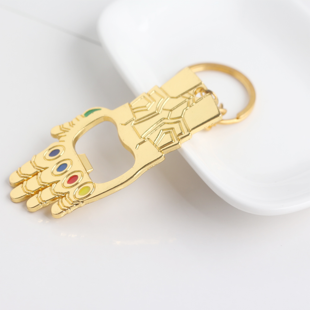 Avengers Infinity War Thanos Beer / Bottle Opener Keychains