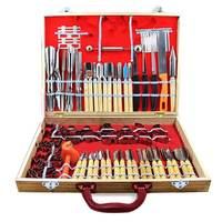80pcs/ Set Carving Tools Decorators Fruit Vegetable Garnishing Cutting Engraving Peelers Cutters Tool Sets @LS
