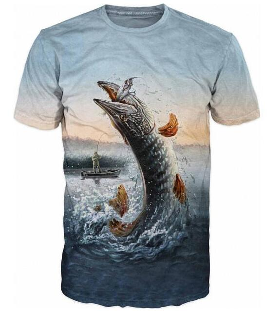Cool Mens T-shirt 3D Catfish Sublimation Printed Catfish Fishing Hobby Outfits Unisex Girl Cute Top Hipster Shirts Oversize