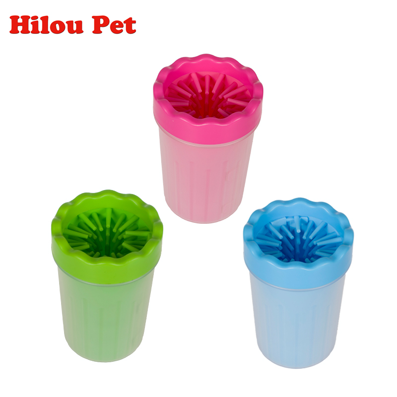 Pet Foot Washer Cup Dog Foot Wash Tools Soft Gentle Silicone