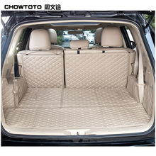 CHOWTOTO AA Spezielle Kofferraum-matten Für Toyota Highlander 5/7 seats Beständigen Wasserdichten Teppiche Für Highlander 5/7 Sitze Lagguge Pad