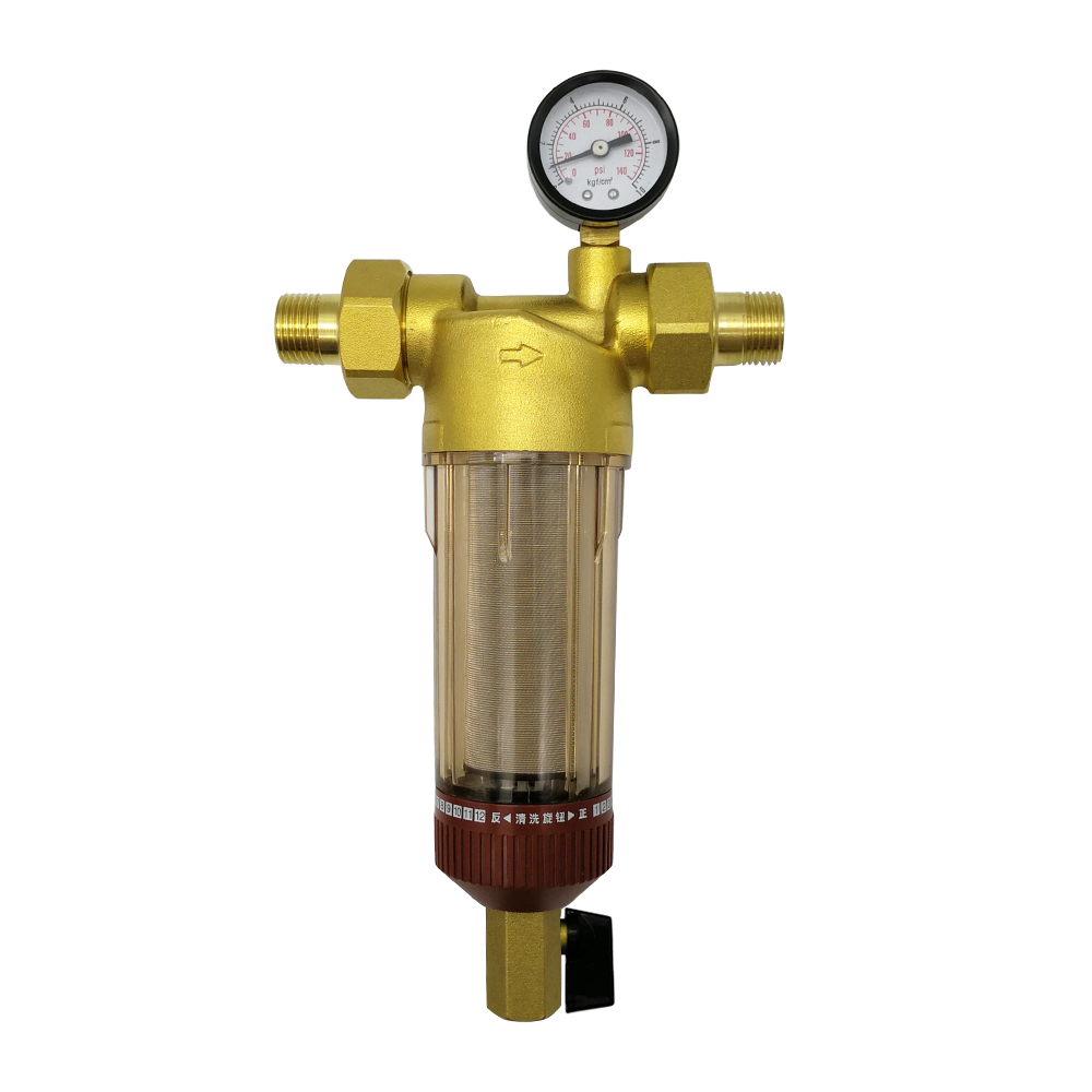 1/2 Inch 3/4 Inch 1 inch Copper water pre Filter with water pressure gauge Water Filter Pipes Central Water Purifier Descaling optolong yulong 2 inch 1 25 inch built in l pro almost no color filter light filter deep space photography filter