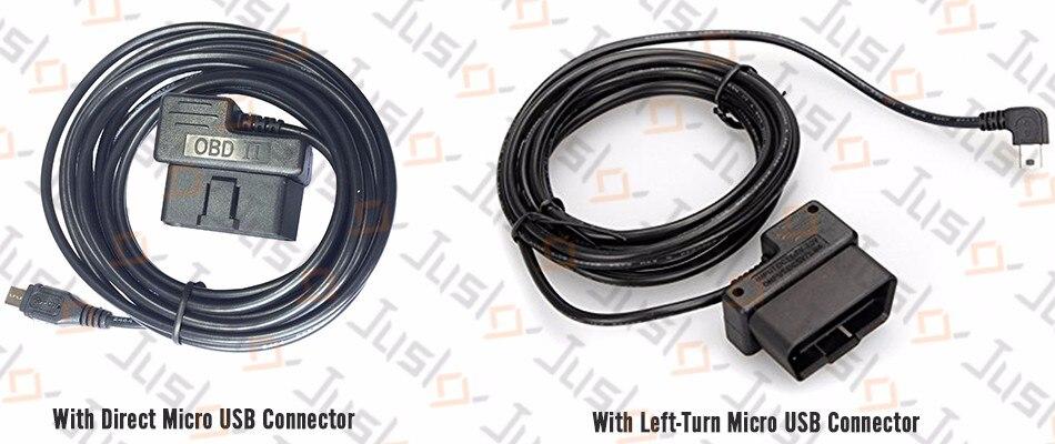 Dash camera NanoQ 0903 WIFI 64G GPS Car Super Capacitor Hardwired OBD2 0806 0805
