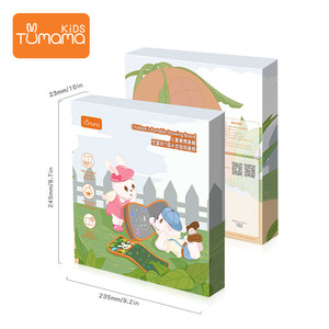 Image 5 - Tumama Cloth Books przenośna tablica książka może powtarzalne malowanie edukacyjne zabawki dla dzieci wielofunkcyjne zabawki montessori