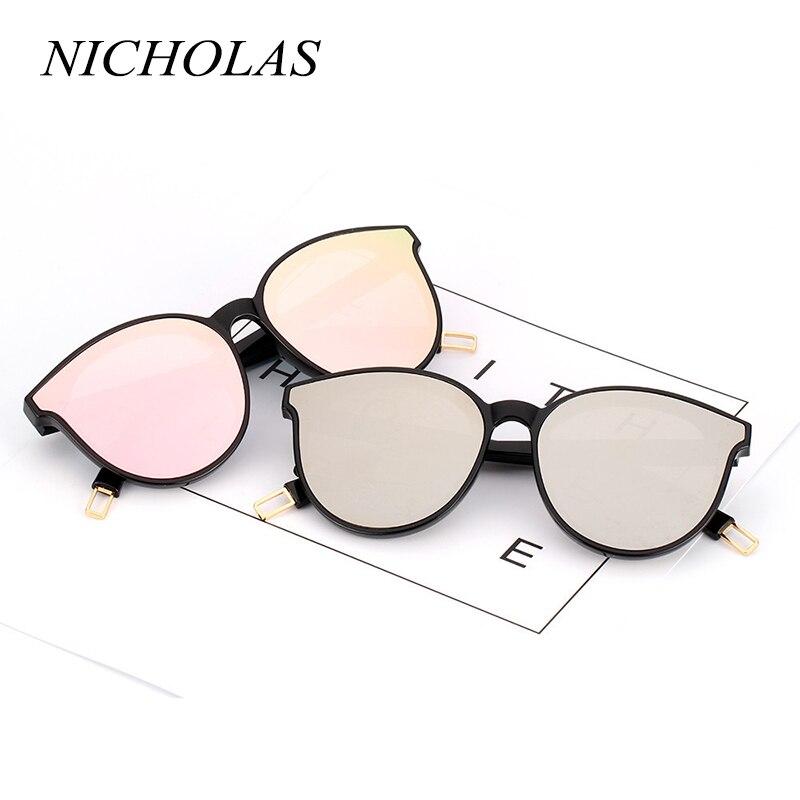 NICHOLAS Cat Eye femmes lunettes De Soleil marque Designer mode lunettes De Soleil femmes dames lunettes Oculos De Sol Feminino Lunette Soleil