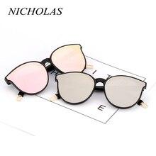 NICHOLAS Cat Eye Women Sunglasses Brand Designer Fashion Sun