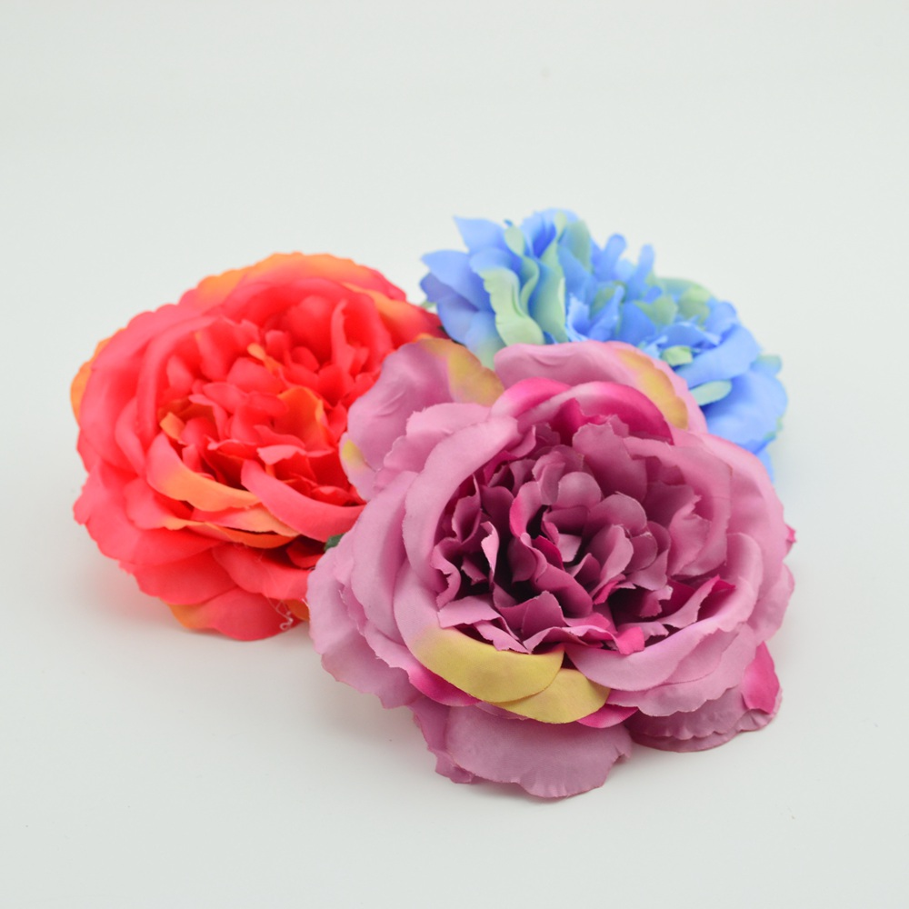 11cm artificial flower cheap fake flower handmade home wedding 11cm artificial flower cheap fake flower handmade home wedding decoration for scrapbooking gift box diy wreath silk peony head in artificial dried flowers izmirmasajfo Image collections