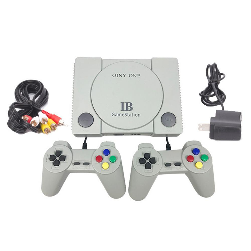 Double Game Console Retro Classic Red And White Machine Household Old Fashioned Double Handle Video Game Console Comfortable
