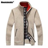 Mountainskin Новый Для мужчин свитера осень-зима теплый пуловер толстые пальто-кардиган Для мужчин s брендовая мужская одежда Повседневное трико...