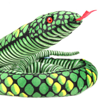 Lifelike Vivid Stuffed Animal Snake Toys Simulation Soft Plush Toy Dolls Funny Children Gift