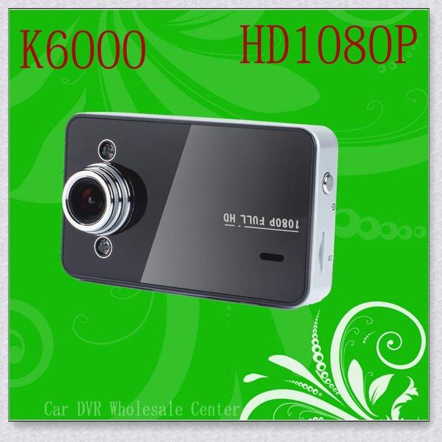 Car Black Box With HD 1920*1080P 25 fps 2.7 inch TFT screen and G-sensor+HDMI DVR free shipping K6000
